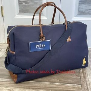 Ralph Lauren Duffel Bag Weekender Travel Carryon